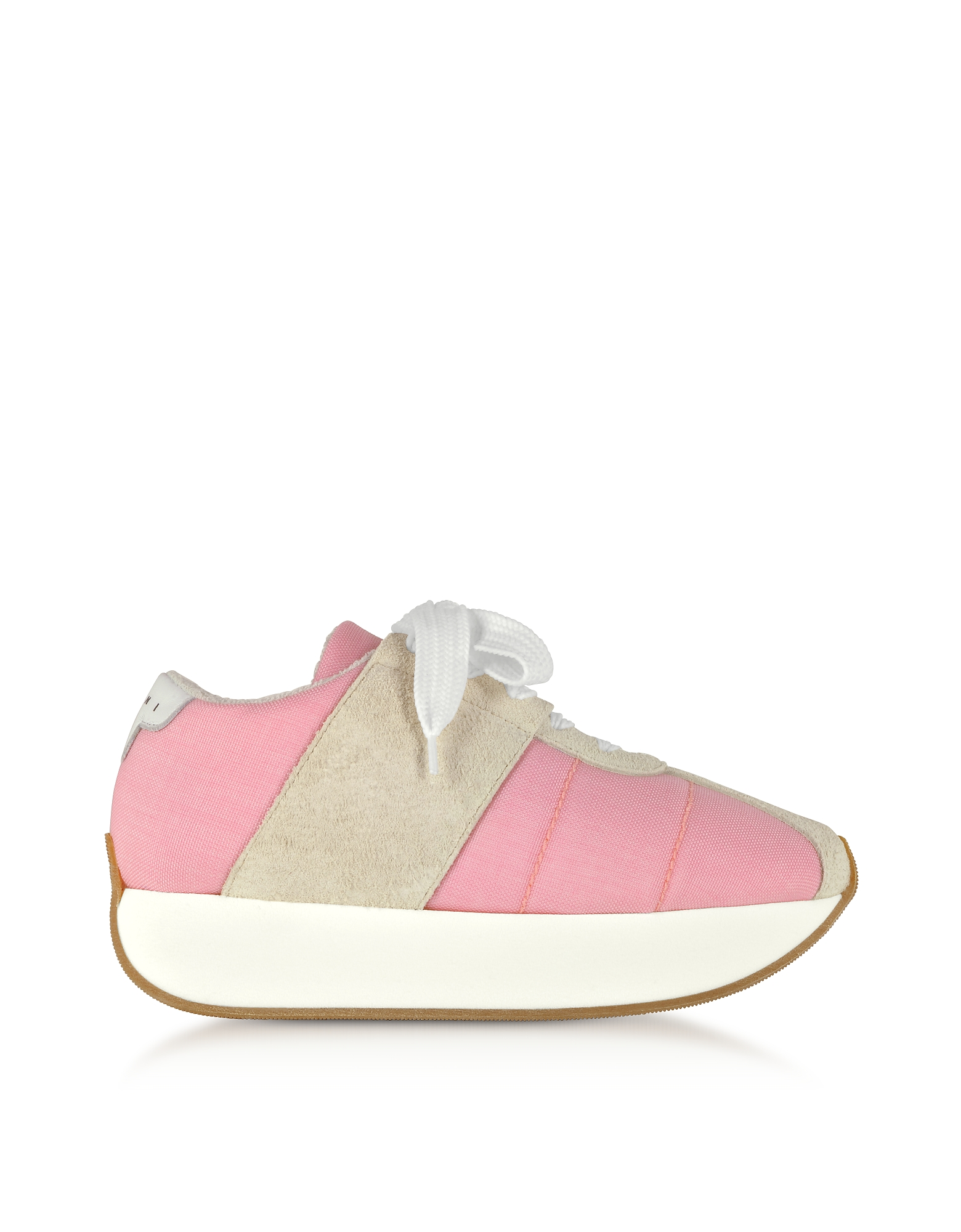 Marni Shoes, Quartz Tech Fabric Big Foot Sneakers