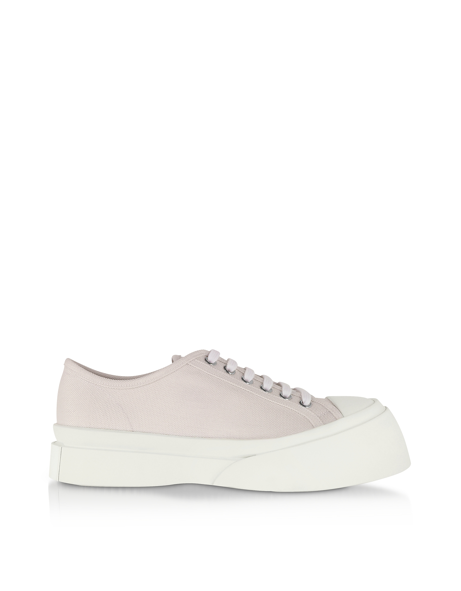 Lily White Canvas Sneakers