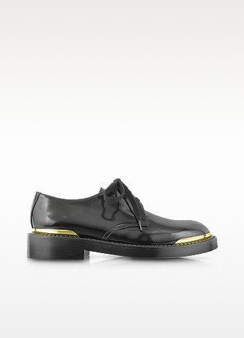 Aliseo Leather Lace-up Derby Shoe  - Marni