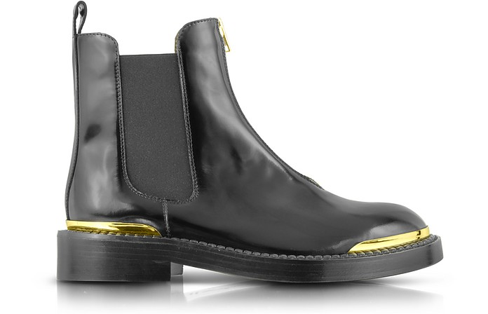 Chelsea Aliseo Leather Ankle Boot - Marni