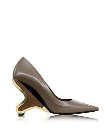 Cereal Leather Pump - Marni