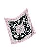 Jewels & Accessories Printed Twill Silk Square Scarf - Moschino
