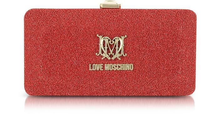 Love Moschino Signature Rectangular Clutch - Moschino