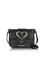 Love Moschino Borsa con Tracolla in Eco Pelle con Logo Cuore - love moschino - it.forzieri.com