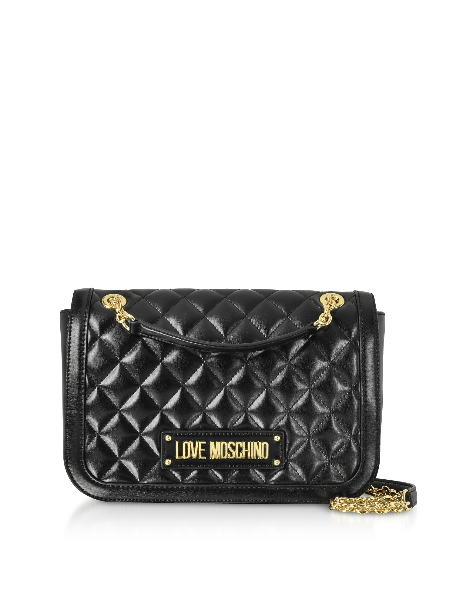 Love Moschino Handbags, New Quilted Eco Leather Crossbody