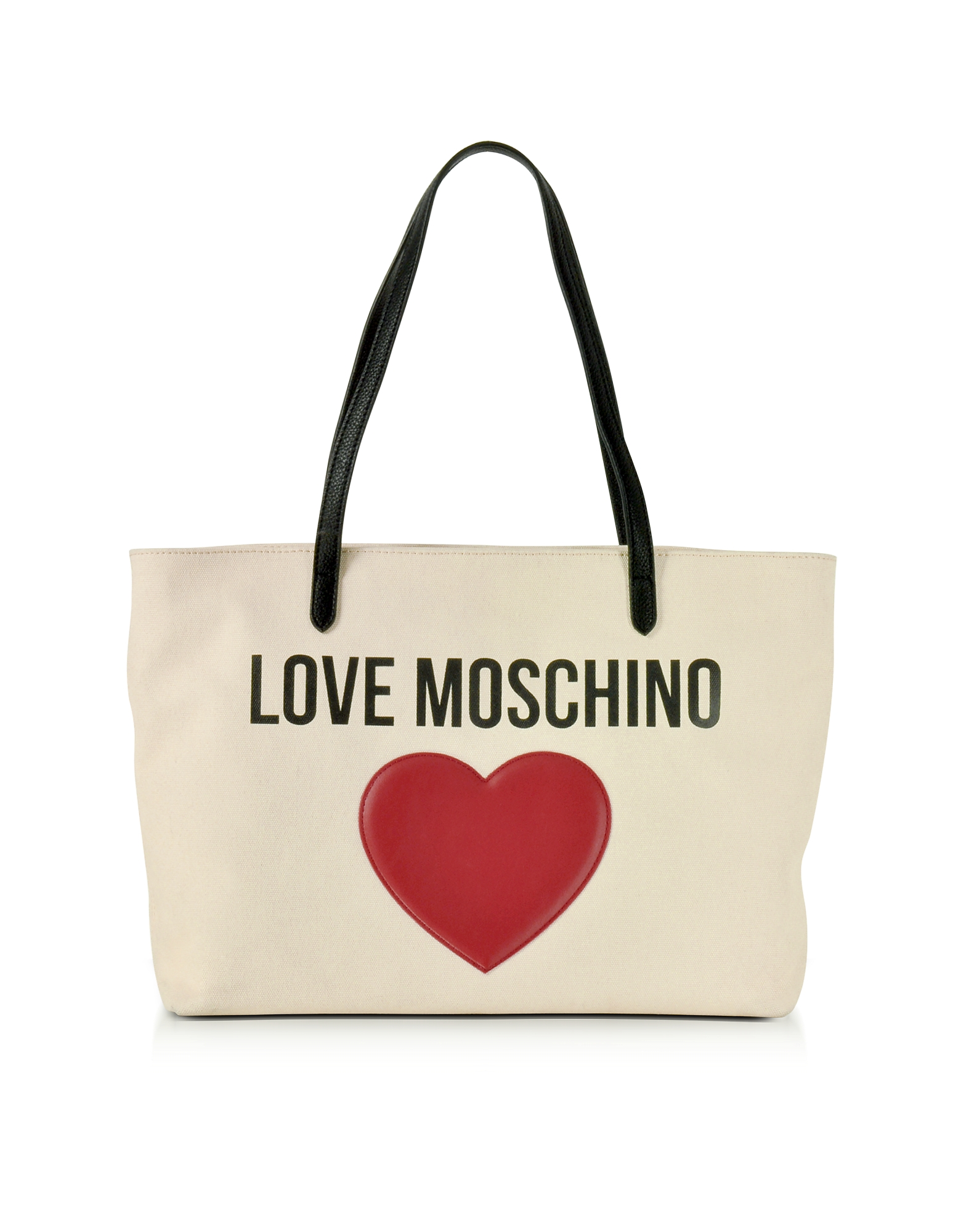 Love Moschino Handbags, Love Moschino & Heart Cotton Tote Bag