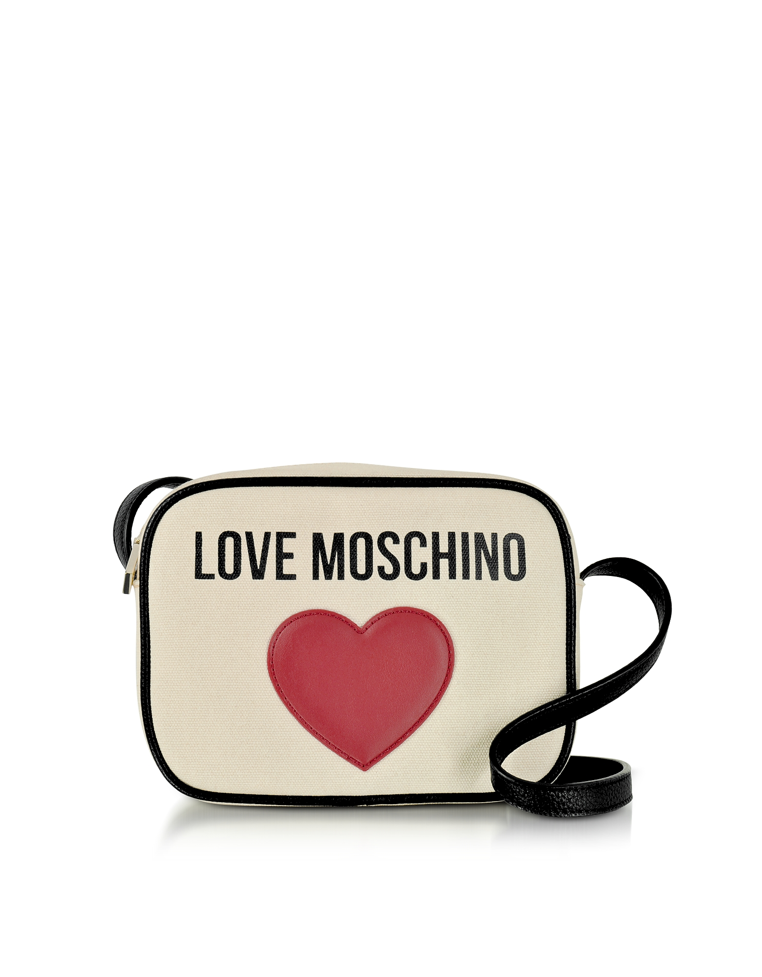 Love Moschino Handbags, Love Moschino & Heart Cotton Camera Bag