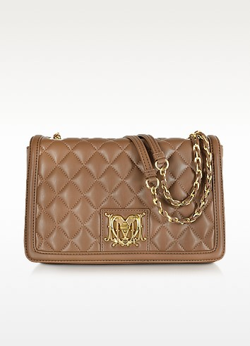 Love Moschino Quilted eco-Leather Shoulder Bag  - Moschino