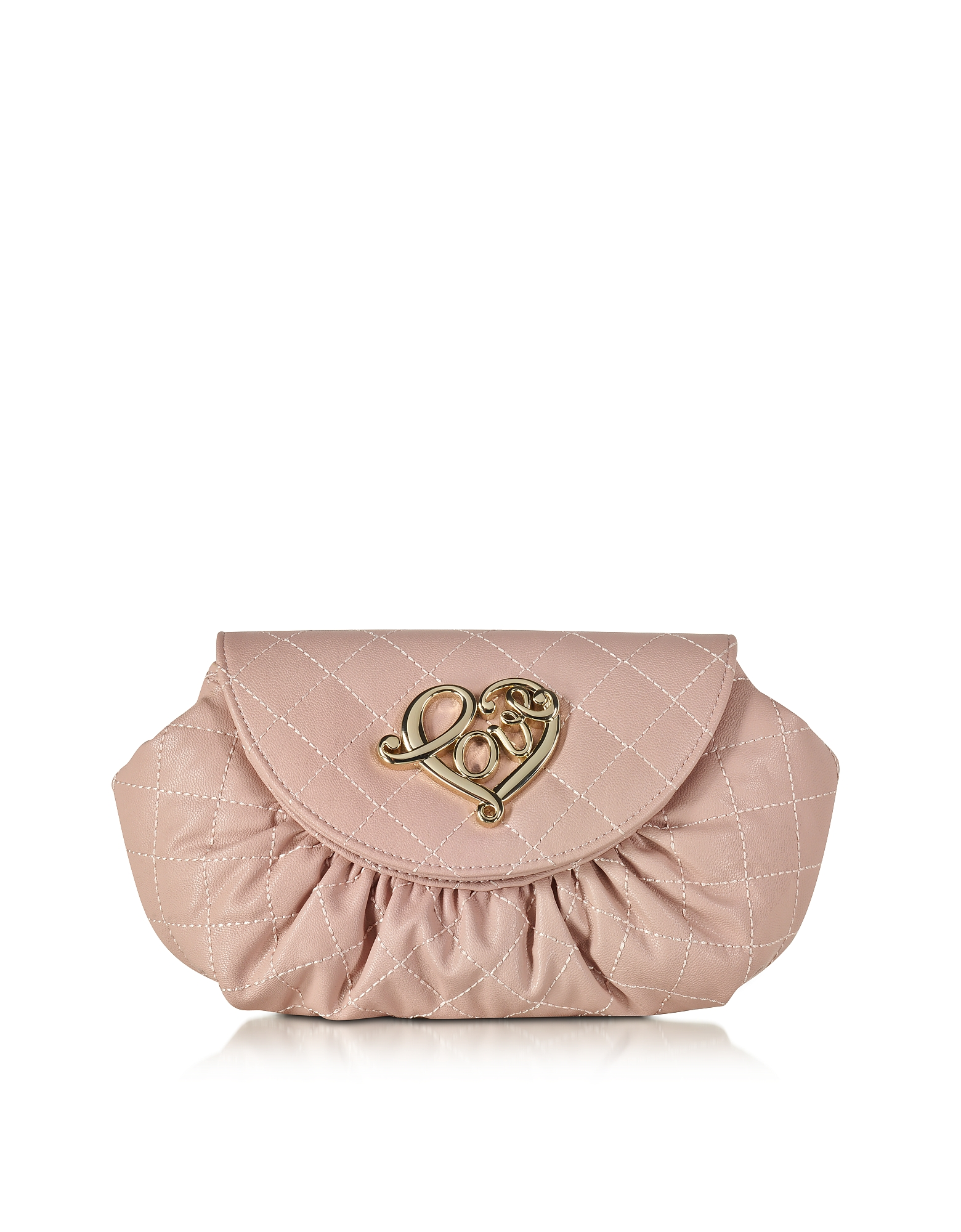 Love Moschino Handbags, Small Quilted Pouch