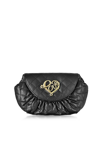 Small Quilted Pouch - Love Moschino