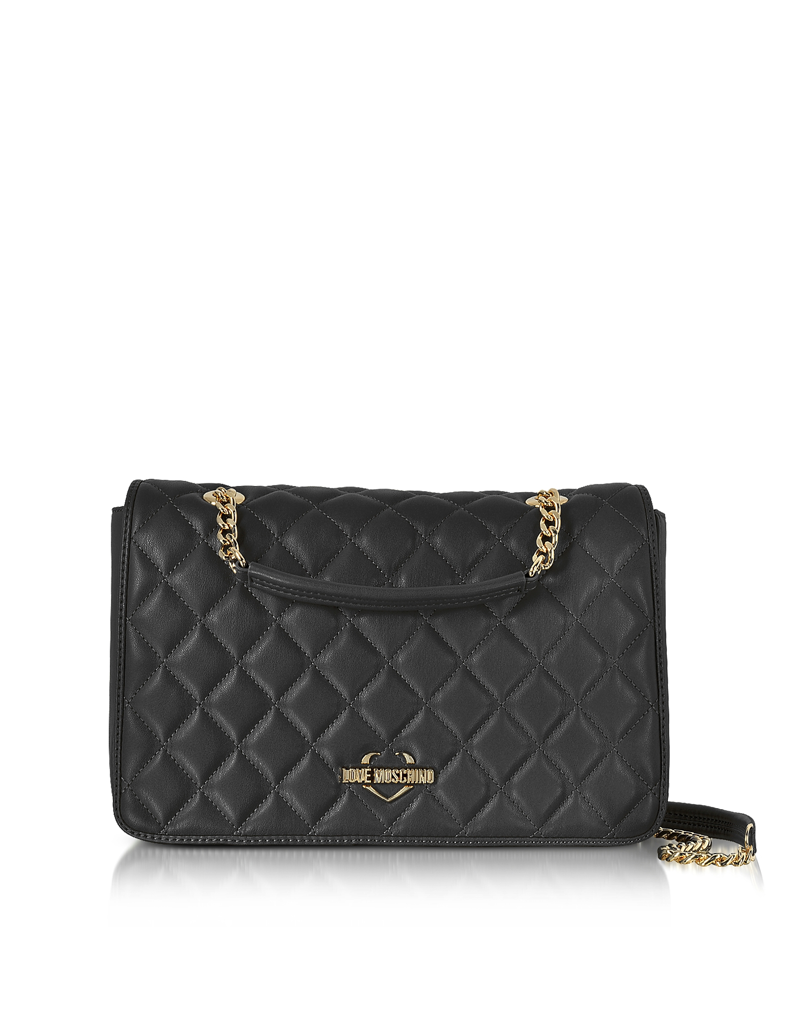 Love Moschino Handbags, Fashion Quilted Eco-Leather Shoulder Bag