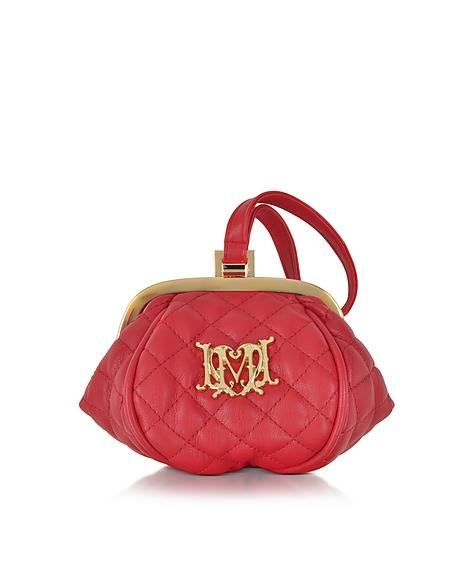 Foto Love Moschino Pochette Matelassé con Logo Borse donna