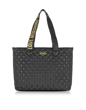 Fashion Quilted Eco-Leather Tote Bag
