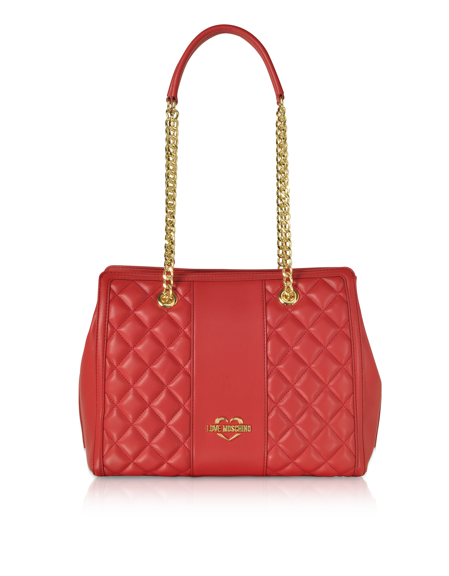 Love Moschino Handbags, Quilted Eco Leather Shoulder Bag