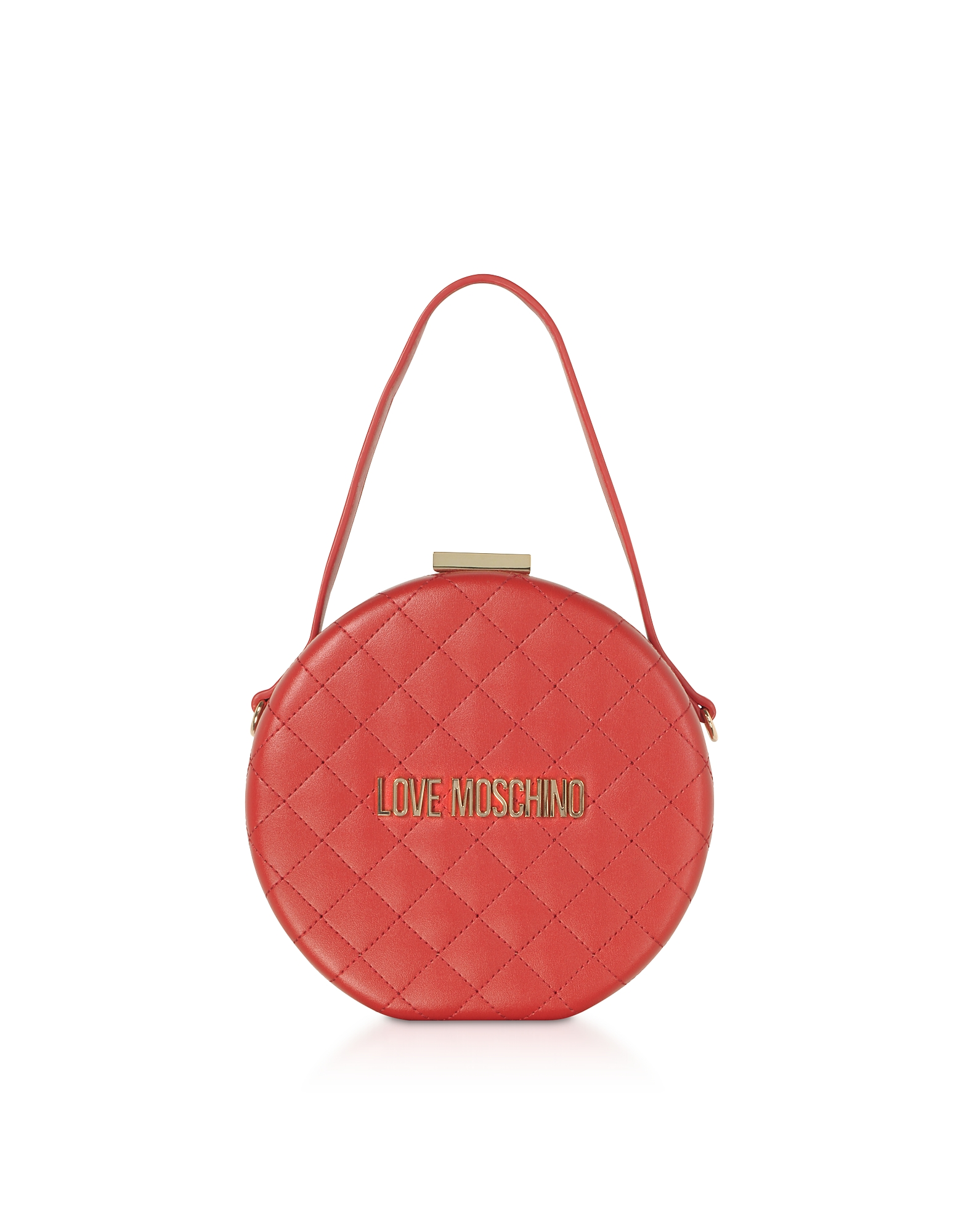 Love Moschino  Handbags Quilted Eco-leather Round Bag