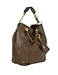 Love Moschino - Large Buffalo Leather Hobo - Moschino