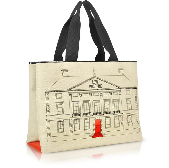 Palazzo - Large Canvas Tote - Moschino