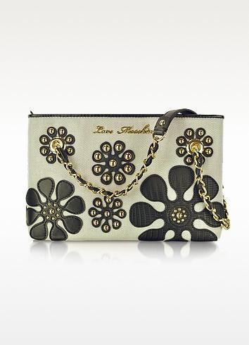 Love Moschino Medium Canvas Shoulder Bag - Moschino