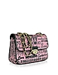 Love Moschino - Pink Signature Canvas Shoulder Bag - Moschino
