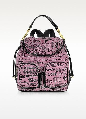 Love Moschino - Signature Canvas Backpack - Moschino