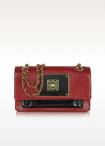 Love Moschino - Red and Black Patent Shoulder Bag - Moschino