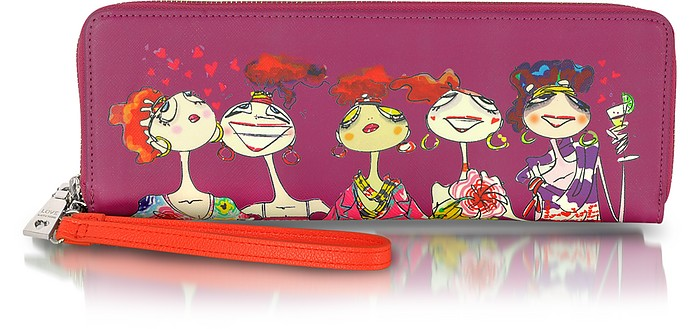 Love Moschino Saffiano Eco Leather Wallet - Moschino