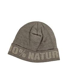 Moschino Brown Wool Hat - Moschino