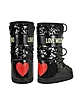 Love Moschino - Black Sequins Boots - Moschino