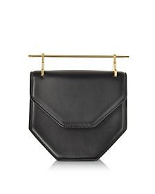 Amor Fati Black Leather Shoulder Bag - M2Malletier