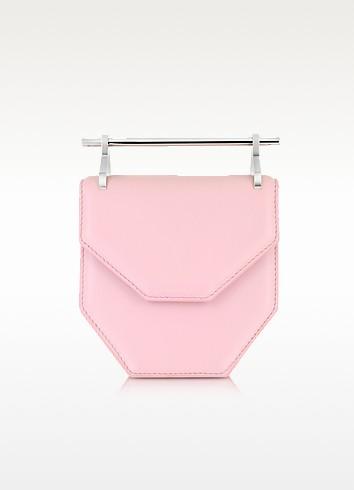 Mini Amor Fati Pastel Pink Leather Shoulder Bag - M2Malletier