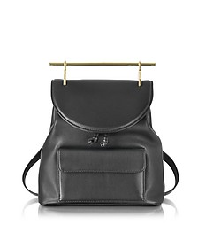Black Leather Backpack - M2Malletier