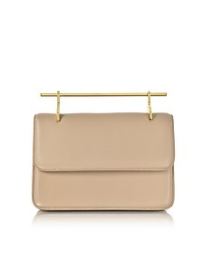 La Fleur du Mal Sand Leather Clutch - M2Malletier