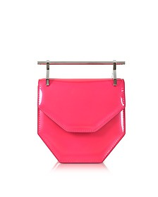 Mini Amor Fati Neon Pink Leather Shoulder Bag - M2Malletier