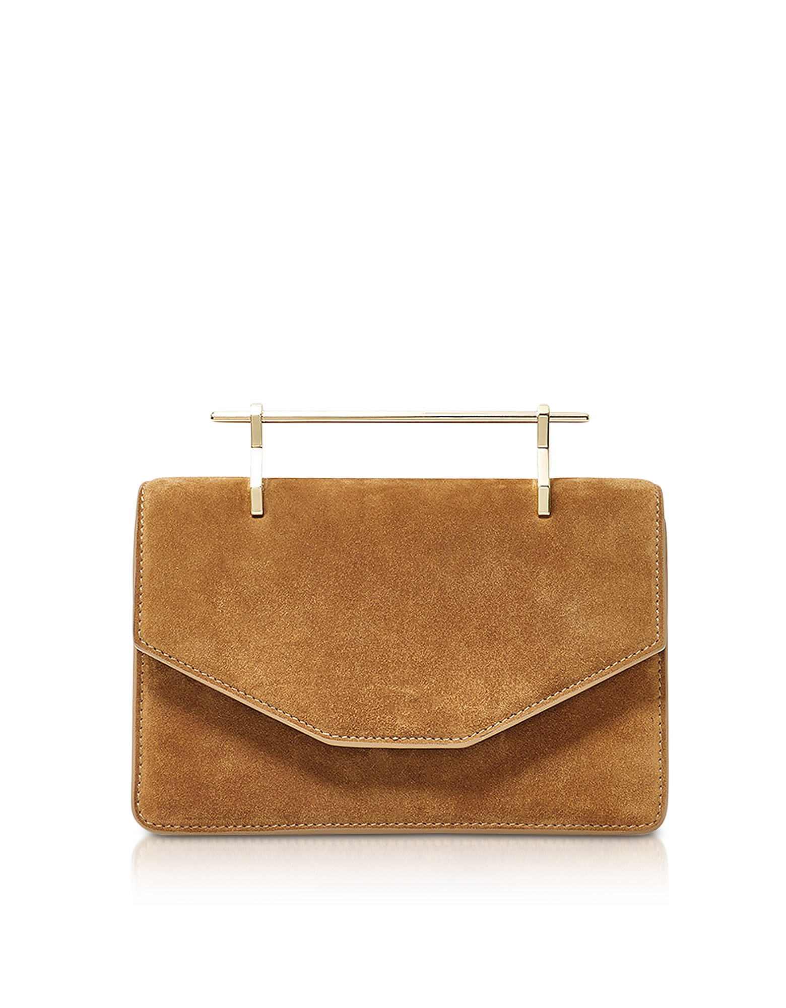 Crossbody Indre in Suede Cammello