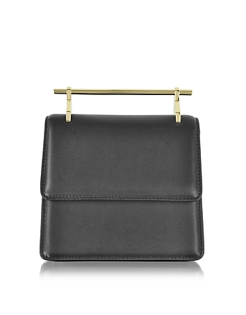 Mini Collectionneuse Black Leather Crossbody Bag