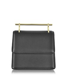 Mini Collectionneuse Black Leather Crossbody Bag - M2Malletier