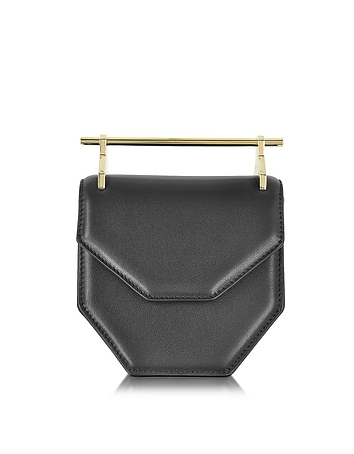 M2Malletier - Mini Amor Fati Black Leather Crossbody Bag