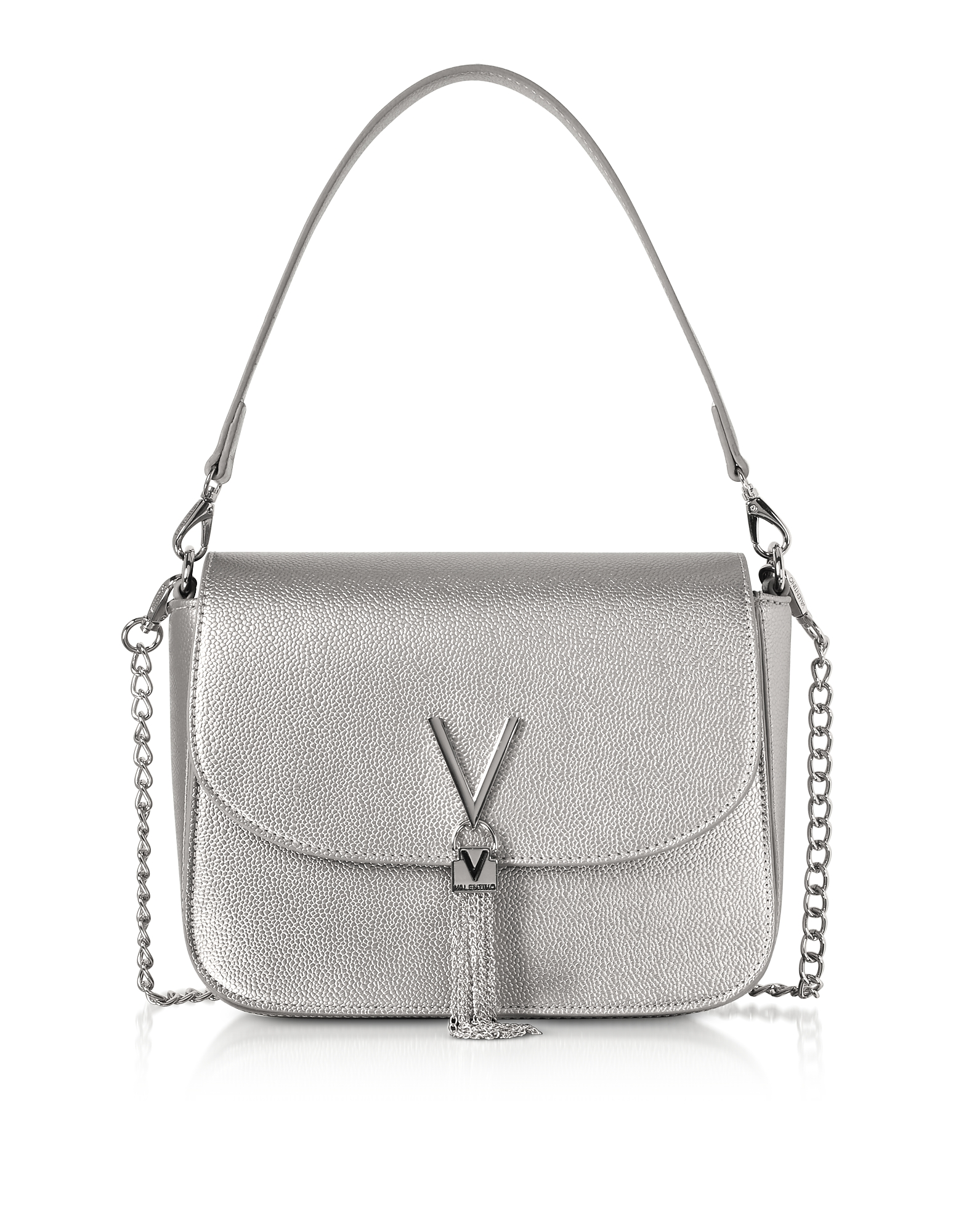 Eco Grained Leather Divina Top Handle Bag
