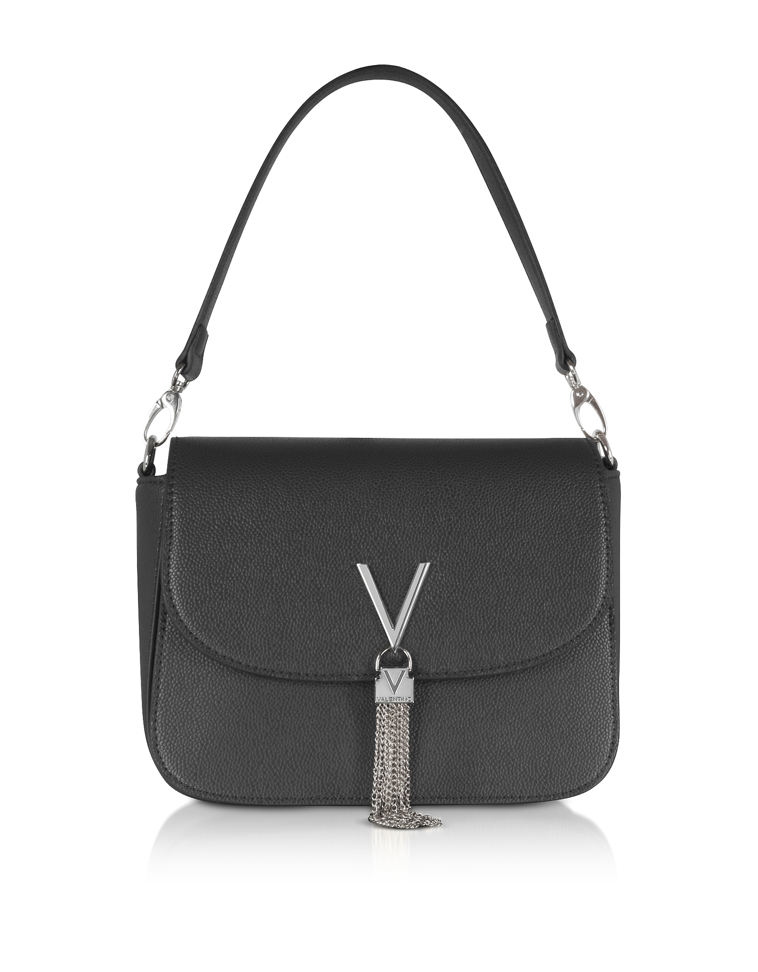 Valentino by Mario Valentino Handbags, Lizard Embossed Eco Leather Divina Top Handle Bag