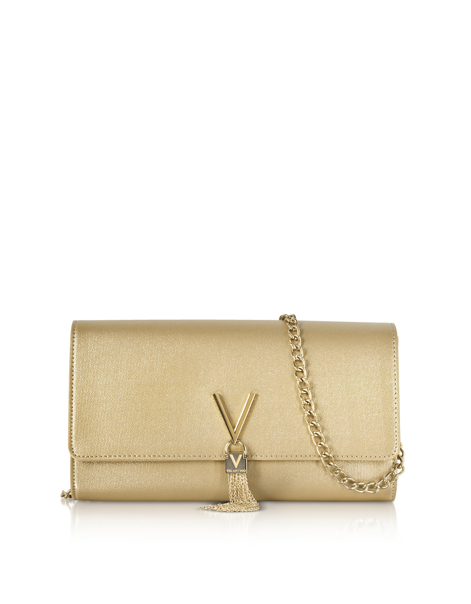 Eco Grained Leather Marilyn Shoulder Bag