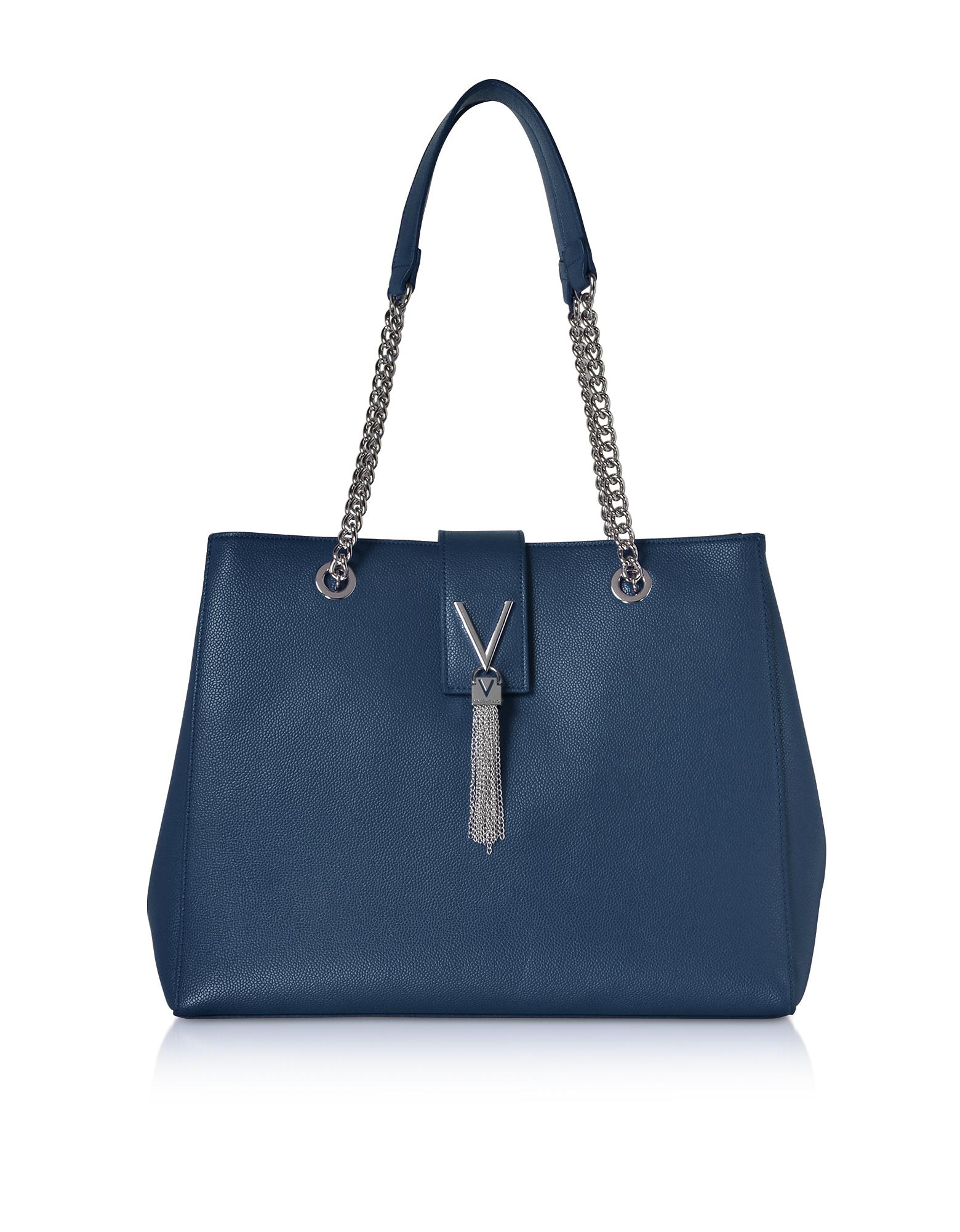 Valentino by Mario Valentino Handbags, Lizard Embossed Eco Leather Divina Tote Bag
