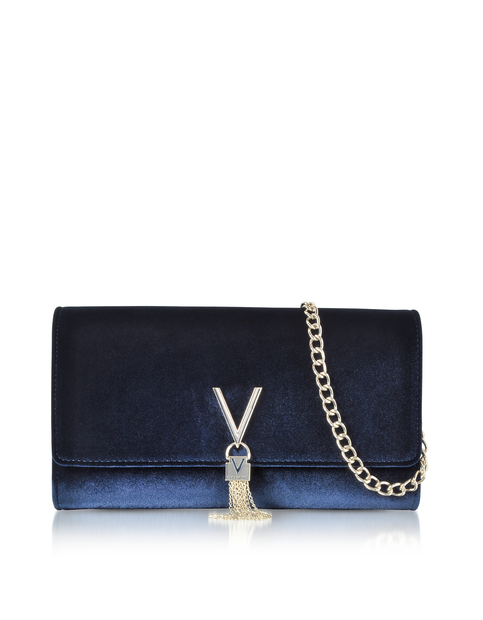VALENTINO BY MARIO VALENTINO Velvet Marilyn Shoulder Bag