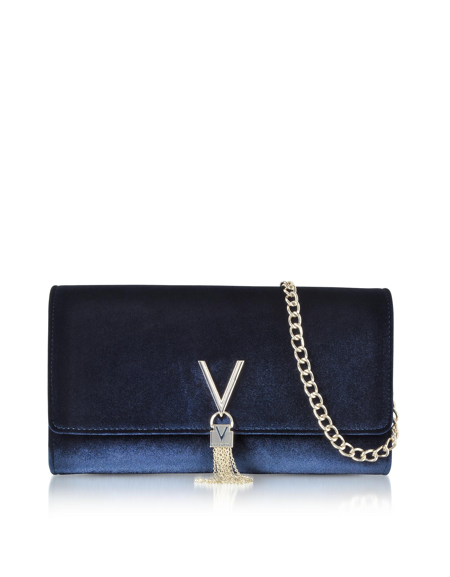 Valentino by Mario Valentino Handbags, Velvet Marilyn Shoulder Bag