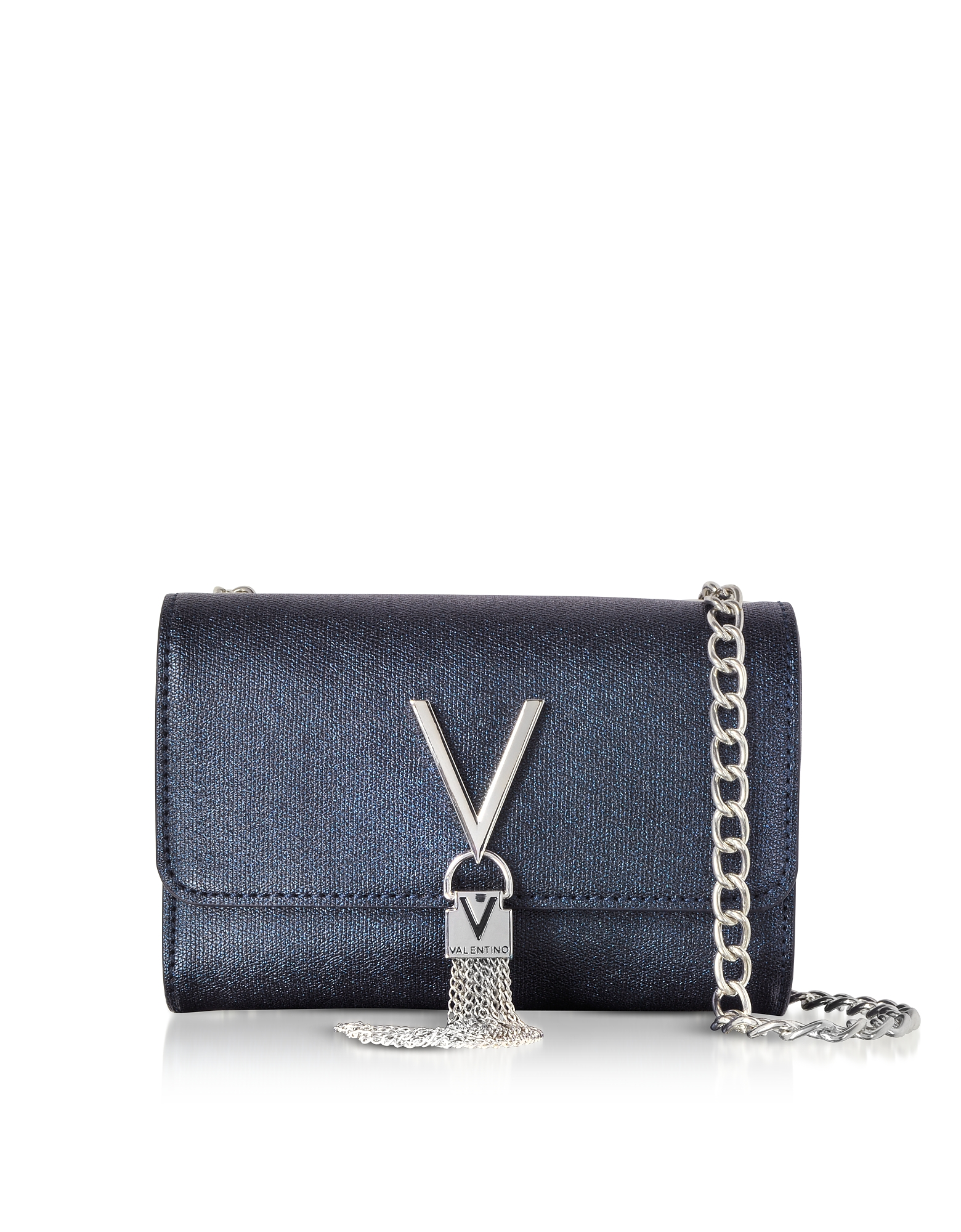 VALENTINO BY MARIO VALENTINO Eco Grained Leather Marilyn Mini Shoulder Bag