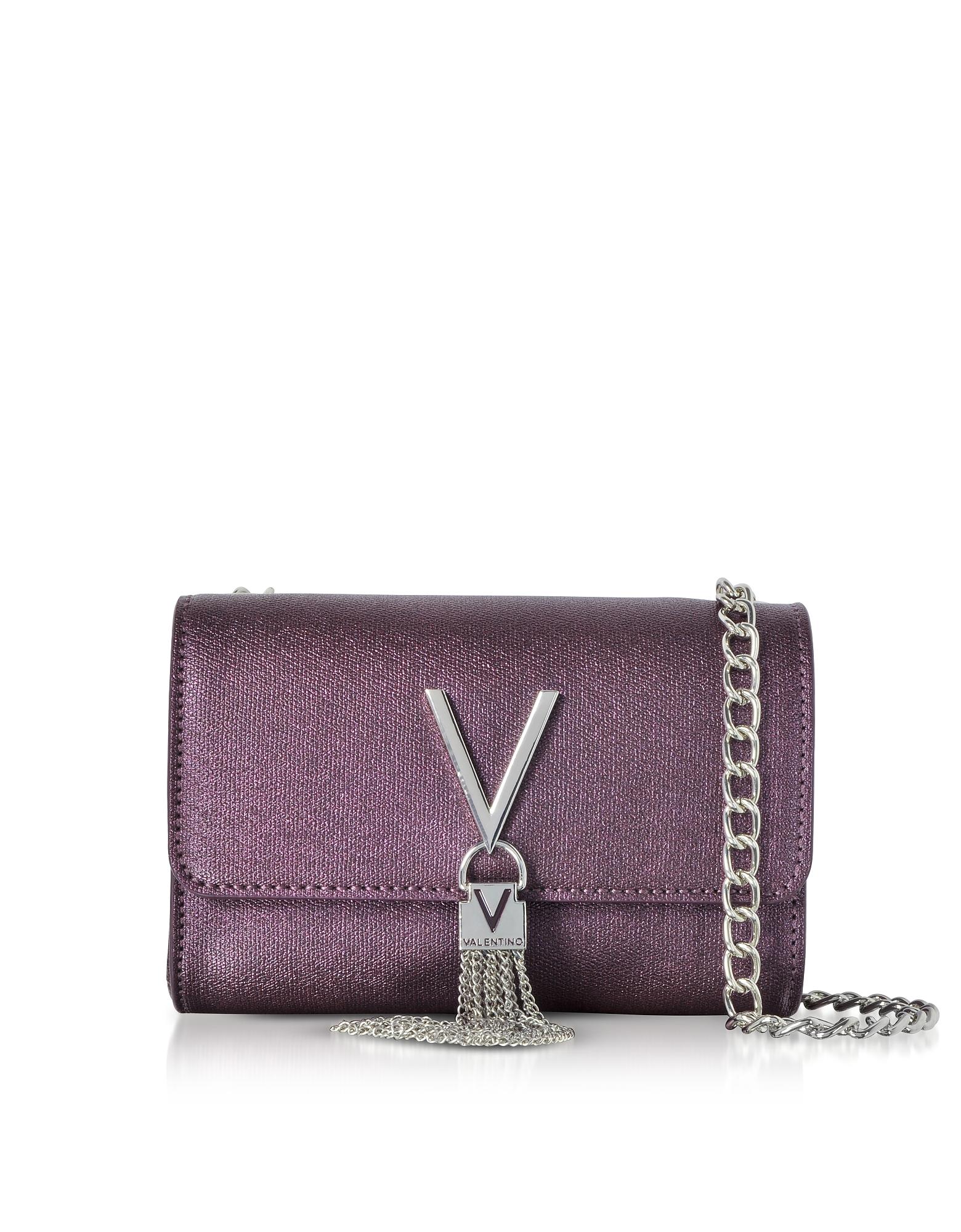 Valentino by Mario Valentino Handbags, Eco Grained Leather Marilyn Mini Shoulder Bag