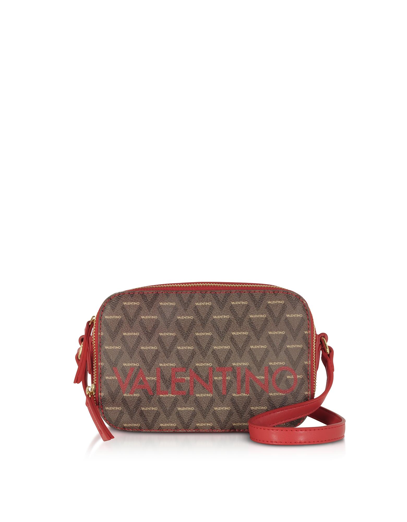 Valentino by Mario Valentino Designer Handbags, Liuto Signature Eco Leather Camera Bag
