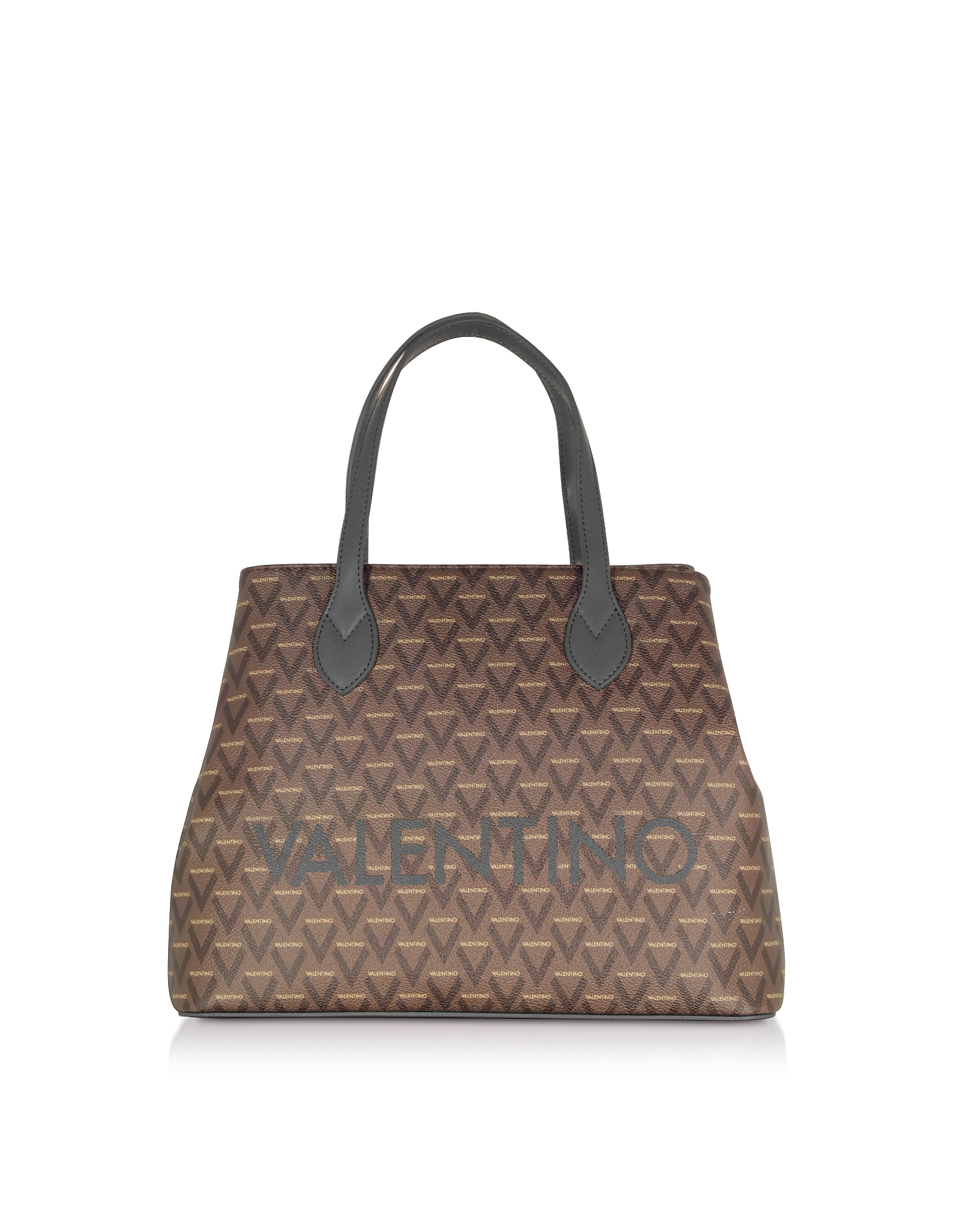 Valentino by Mario Valentino Designer Handbags, Liuto Signature Eco Leather Tote Bag