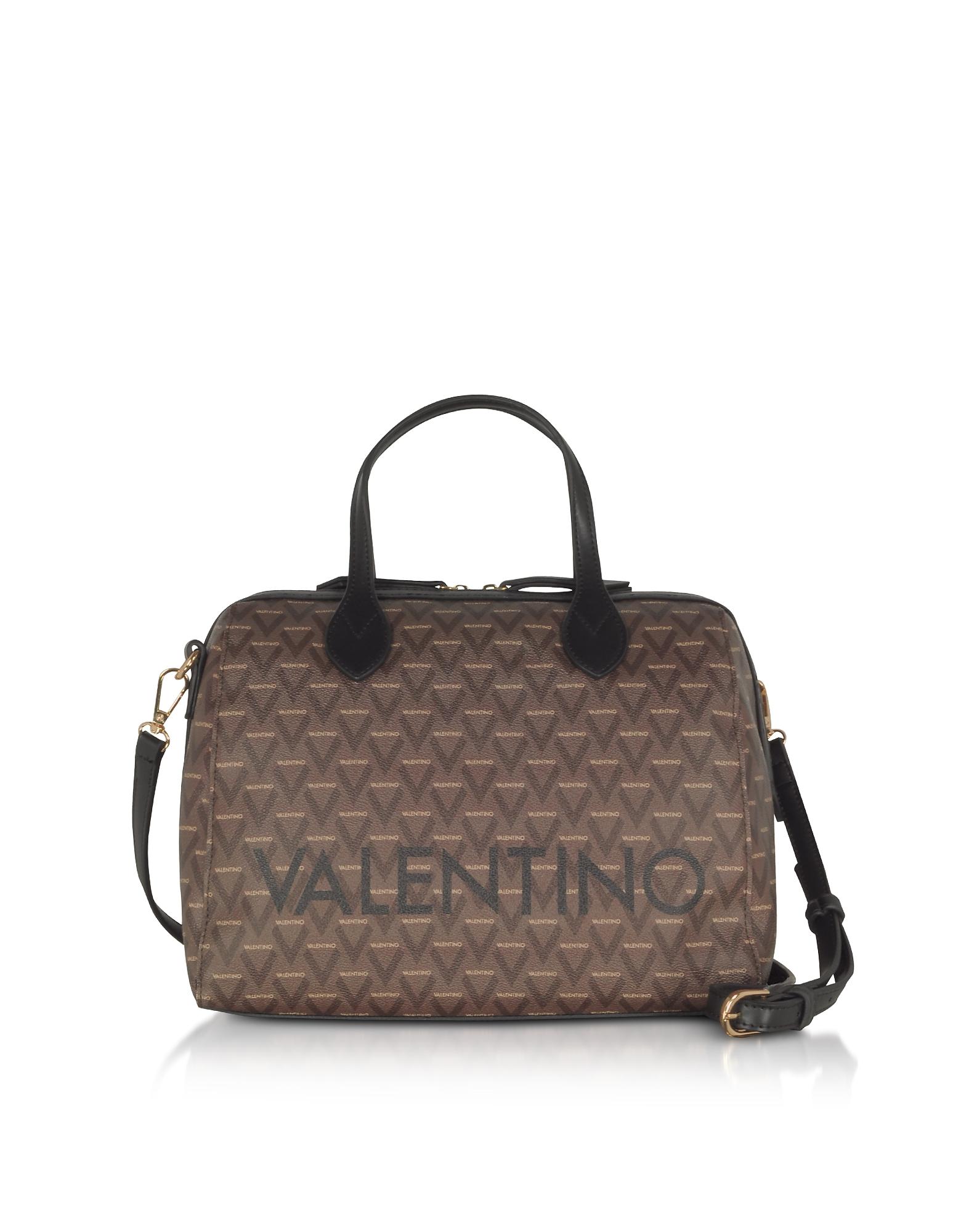 Liuto Signature Eco Leather Satchel Bag