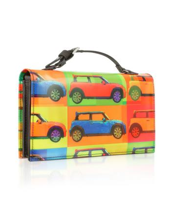 MINI Pop Style - Multicolor Purse Wallet w/Shoulder Strap