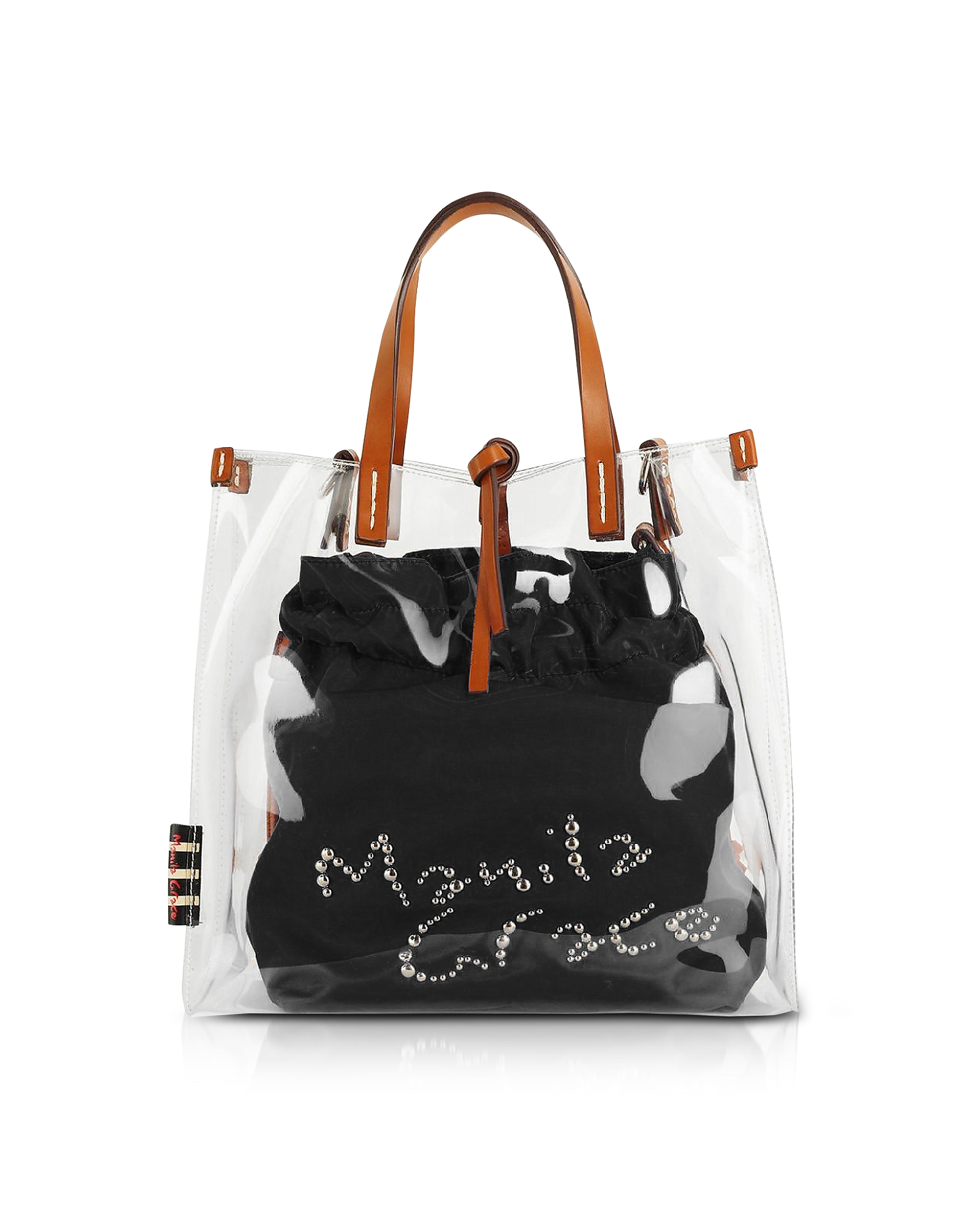 Manila Grace Designer Handbags, Transparent Tote Bag